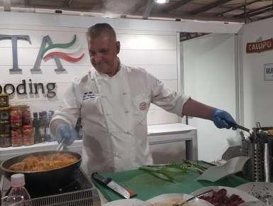 Lo Chef Donato  Carra  stupisce ancora  al Milan – World  Food  Exhibition