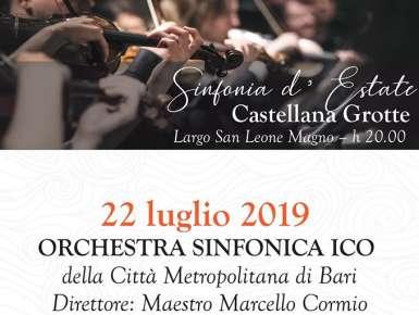 Ultimo concerto dell'Orchestra Sinfonica della Città Metropolitana di Bari a Castellana Grotte