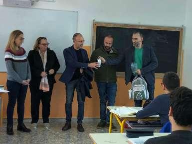 Le borracce ''Città di Conversano'' al Liceo Scientifico
