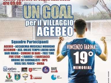 Un goal per il Villaggio Agebeo