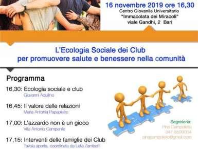 Ecologia sociale e club