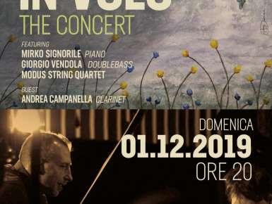 """"""" Michele Perrugini IN VOLO """" Domenica 1 dicembre presentazione  del nuovo lavoro discografico al Teatro Forma a Bari"""