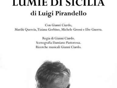 """""""LUMIE DI SICILIA"""", AL TEATRO TRAETTA DI BITONTO"""