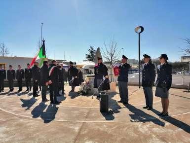 Conversano: Commemorazione del 15° anniversario della morte dell'Agente Scelto della Polizia di Stato Giuseppe Cimarrusti