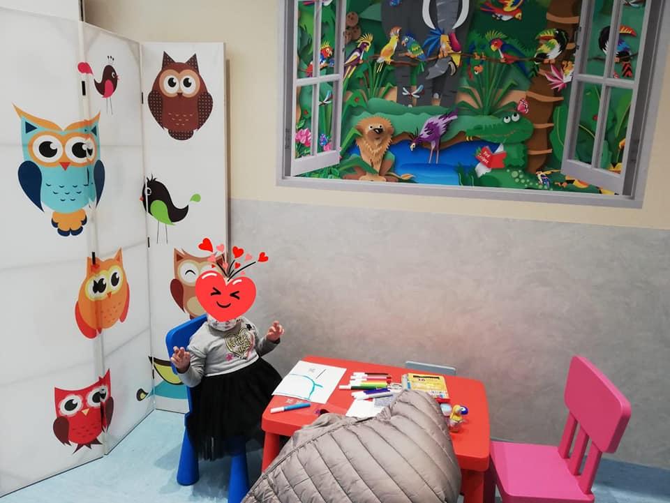 Uno spazio gioco per accogliere i pazienti oncologici pediatrici  presso il Giovanni Paolo II di Bari.