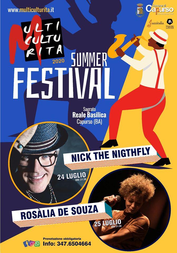 Multiculturita Summer Festival 2020 - Tutto pronto per la XVIII edizione