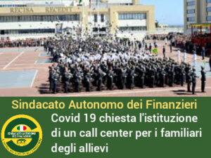 Covid nella Scuola Allievi Finanzieri di Bari