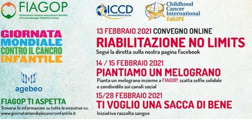 XX Giornata Mondiale contro il Cancro Infantile: le iniziative di Agebeo, al fianco di FIAGOP e Childhood Cancer International Europe