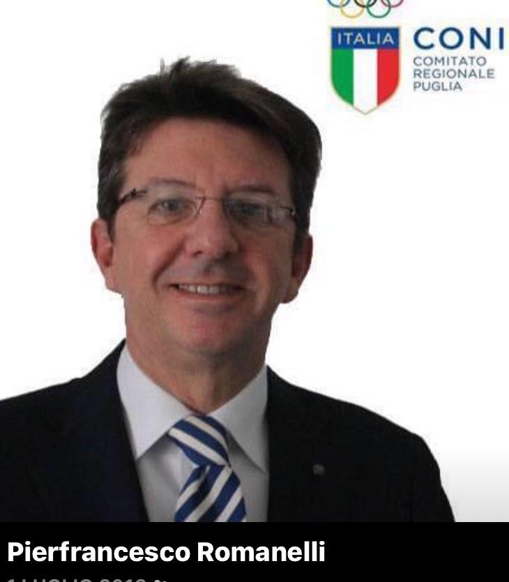 Coni Bari: Pierfrancesco Romanelli candidato delegato provinciale