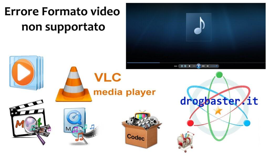 """tecnologia """" L'ELENCO  COMPLETO DEI  FILE VIDEO E  DEI  CODEC  PER GLI SVILUPPATORI  """""""