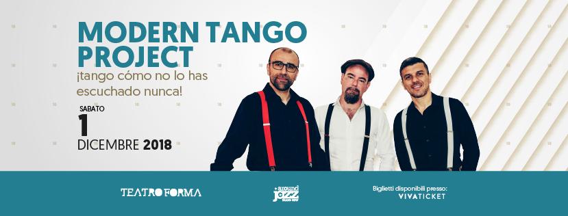 """Modern Tango Project in """"Tango como no lo has escuchado nunca"""""""