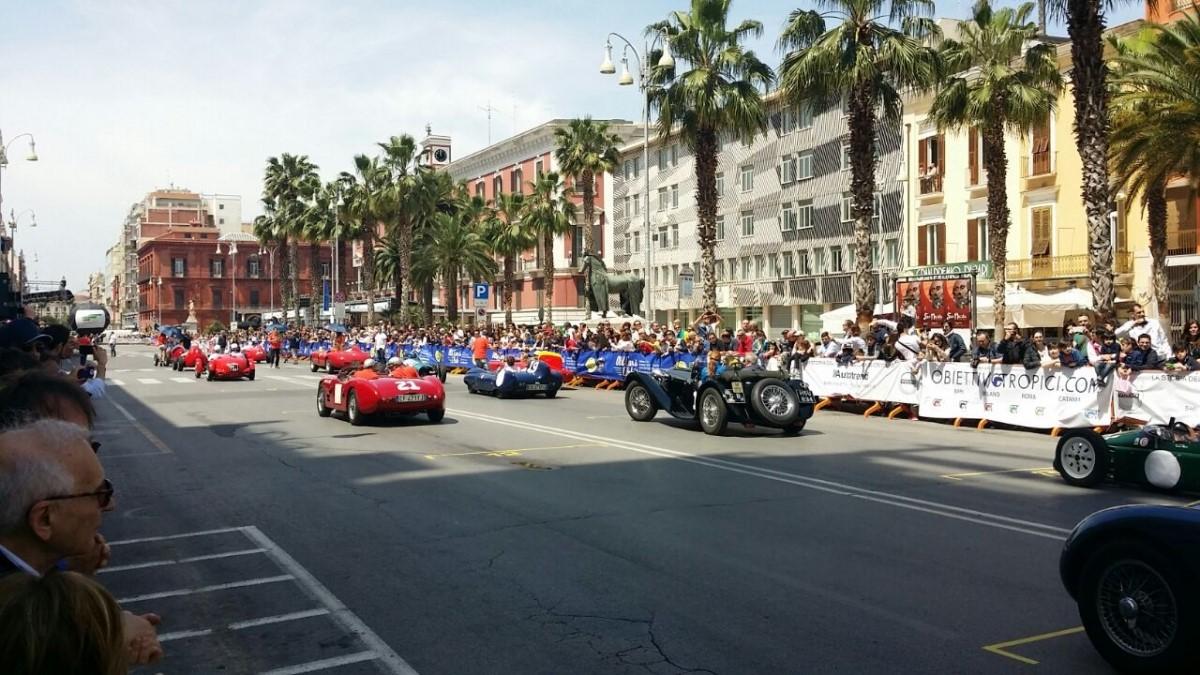 Il Gran Premio di Bari alla BIT di Milano - Old Cars Club presenta la sesta Rievocazione della storica gara  alla Fiera Internazionale del Turismo